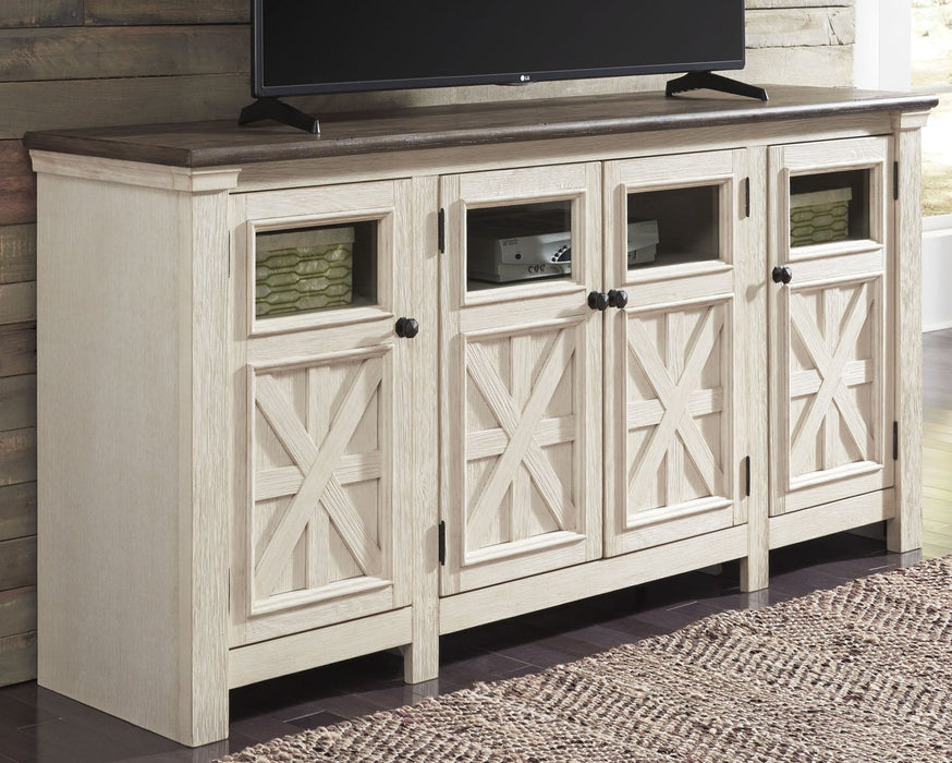 Bolanburg Signature Design by Ashley Two-tone 74 TV Stand
