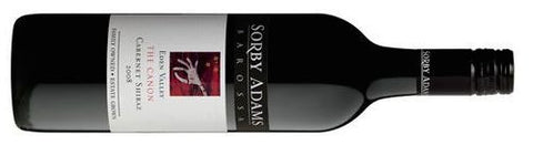 "Sorby Adams 2008 ""The Reverend Canon"" Cabernet shiraz"