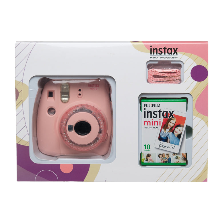 Instax mini 9 Camera Combo (Camera + 1 Film)