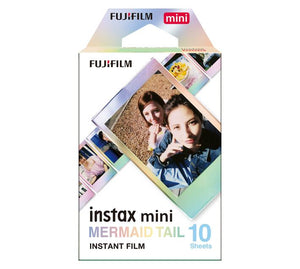INSTAX Film Mini (10 Sheets) Mermaid Tail