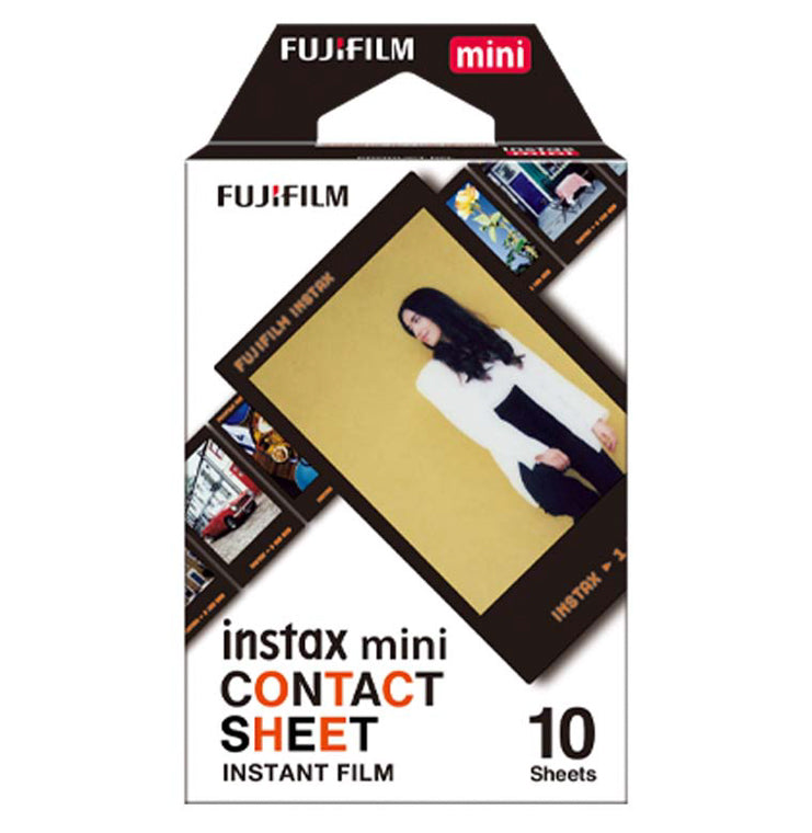 instax Film Mini (10sheets) Contact Sheet