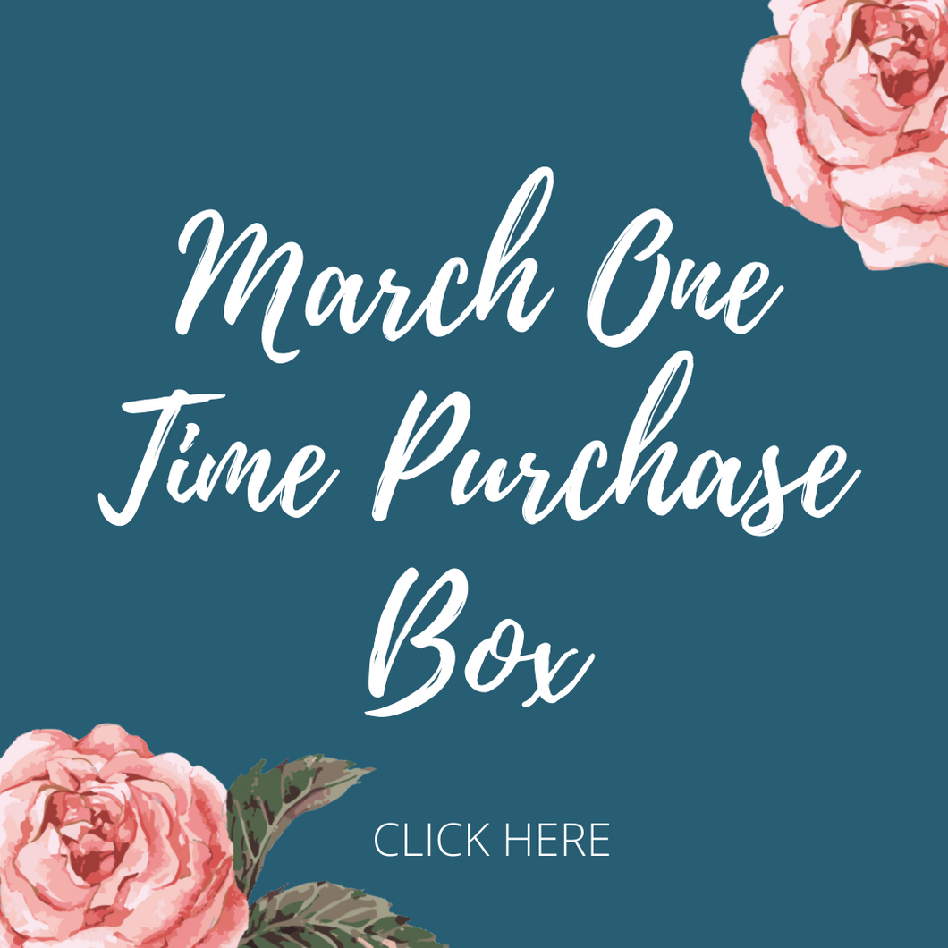 One Time March Box Purchase