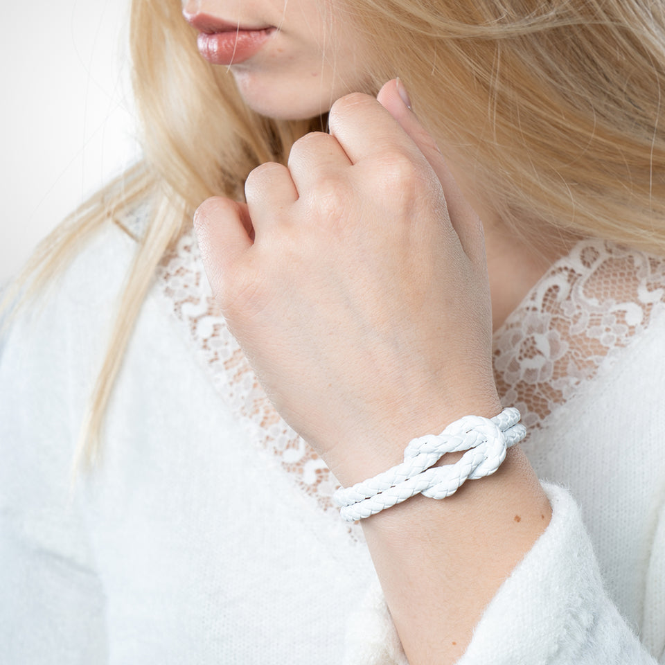 Leather Strap - White