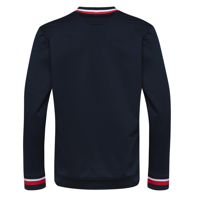 M COURSE CREW NECK<br />Navy