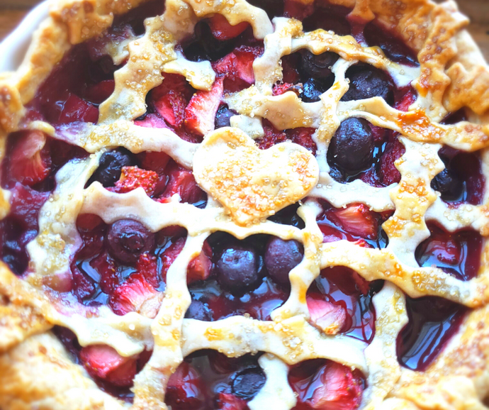 Tarte aux petits fruits plus que simple