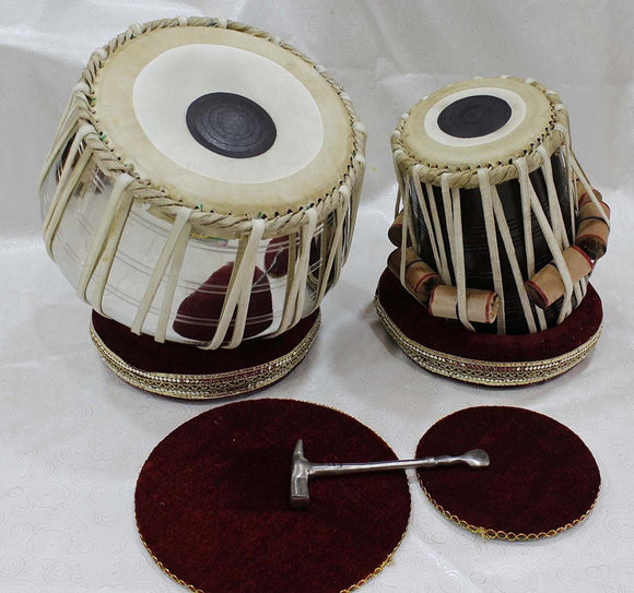 Beautiful Tabla set with Bag Indian musical intrument.