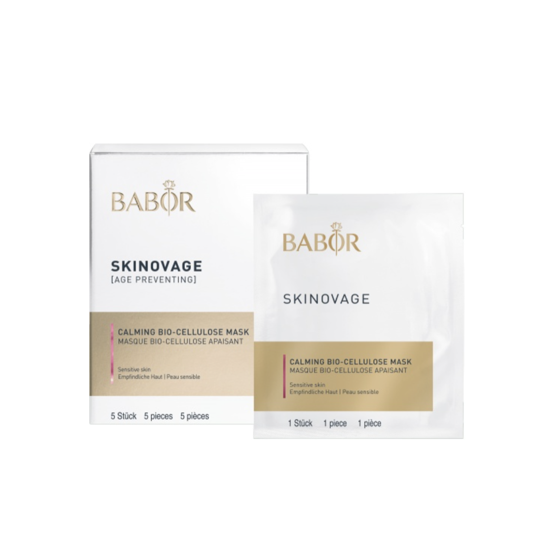 Babor Skinovage Calming Bio-Cellulose Mask