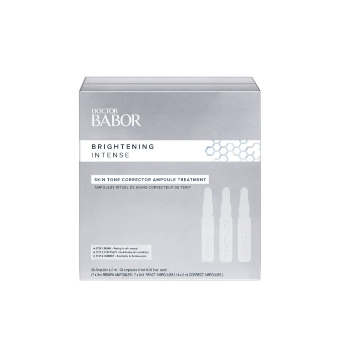 Doctor Babor Brightening Intense, Skin Tone Corrector Ampoule Treatment