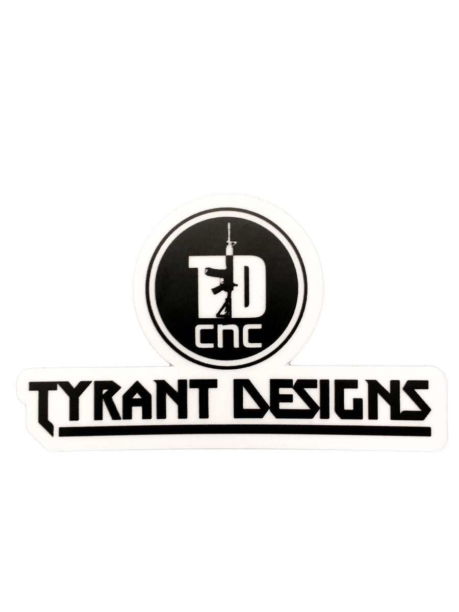 Tyrant Designs Logo sticker