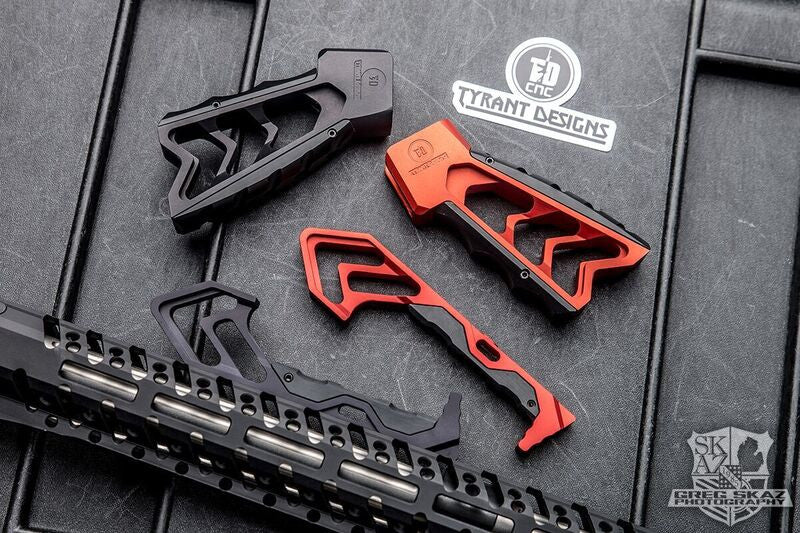 Red MOD AR-15 ForeGrip M-LOK and KeyMod
