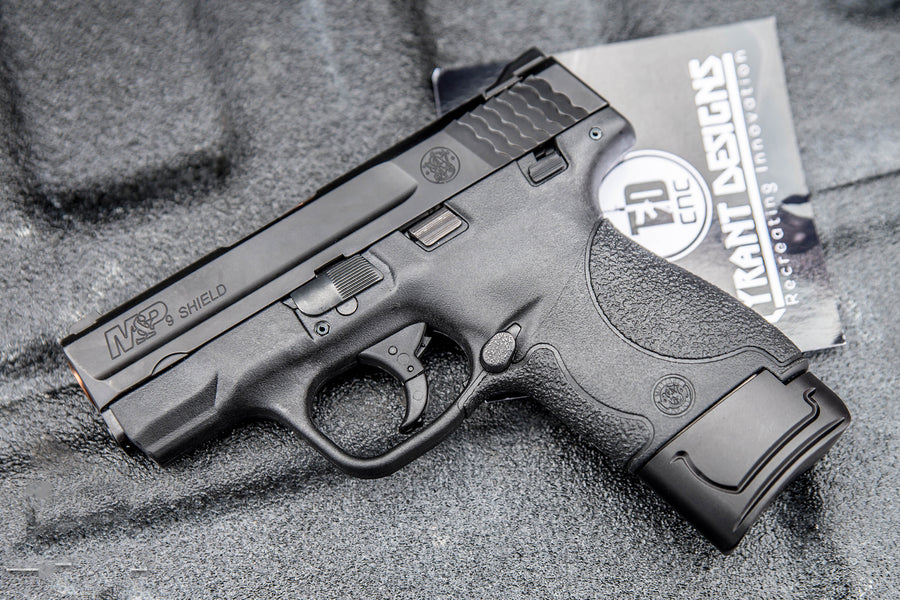 Tyrant Designs CNC plus 2 magazine extensions for M&P Shield