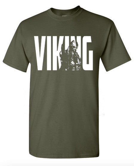 Viking Logo - Army Green