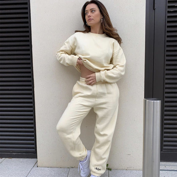 French Vanilla Ukiyo Ultimate Jogger Set
