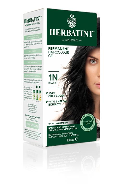 Herbatint Permanent Colour 1N - Black
