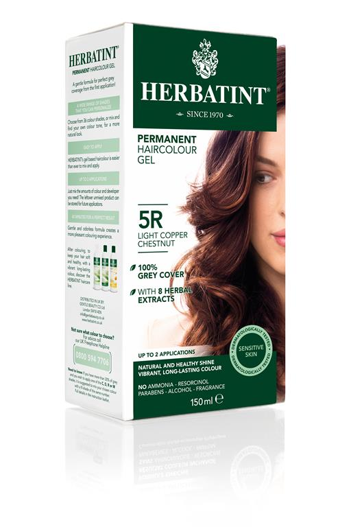 Herbatint Permanent Colour - 5R Light Copper Chestnut