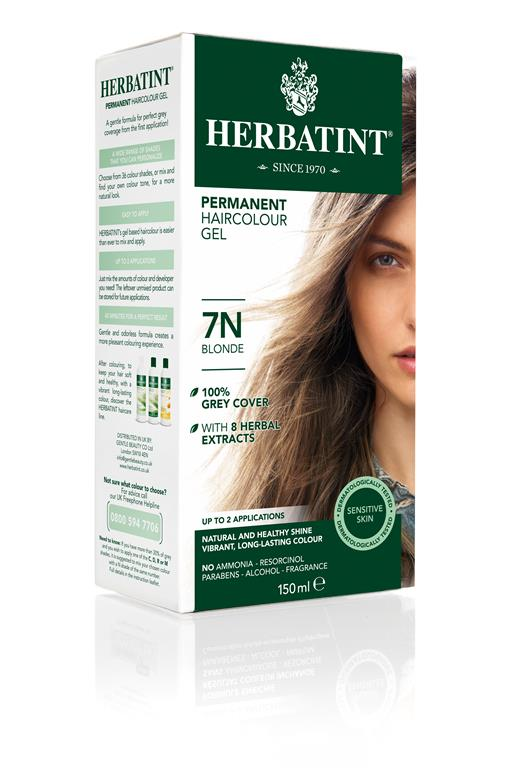 Herbatint Permanent Colour - 7N Blonde