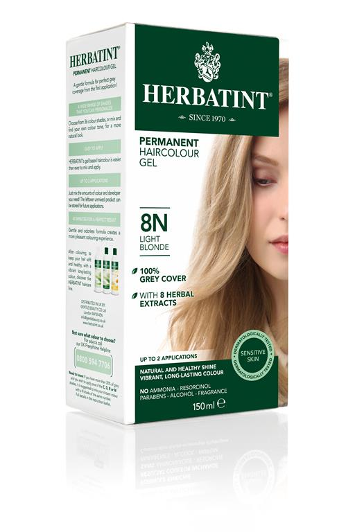 Herbatint Permanent Colour - 8N Light Blonde