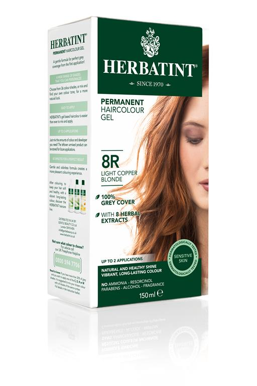 Herbatint Hair Colour - 8R Light Copper Blonde