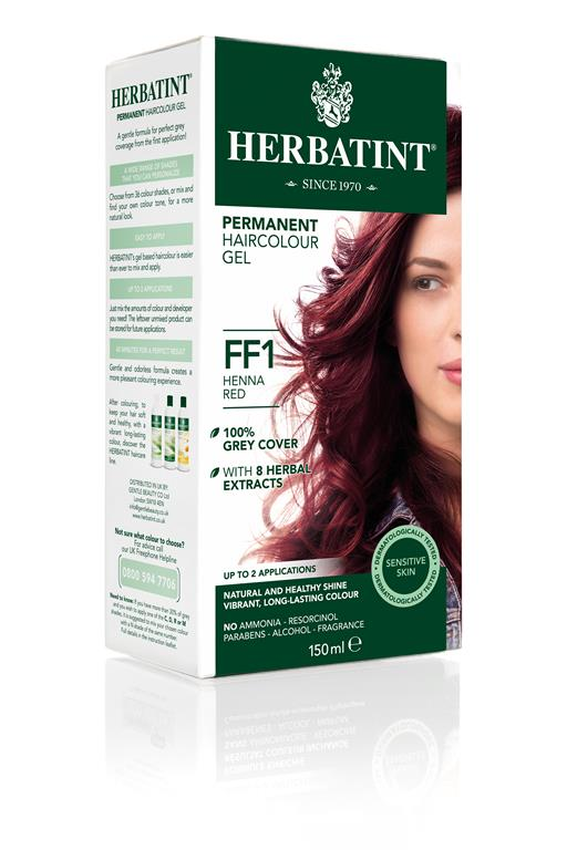 Herbatint Permanent Colour - FF1 Henna Red