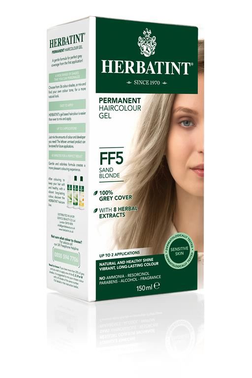 Herbatint Permanent Colour - FF5 Sand Blonde