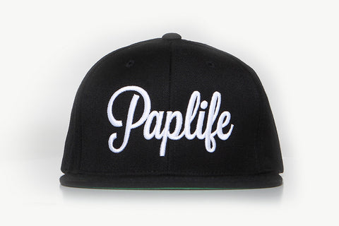 PAPLIFE SNAPBACK - BLACK