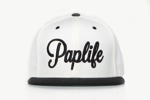 PAPLIFE SNAPBACK - WHITE