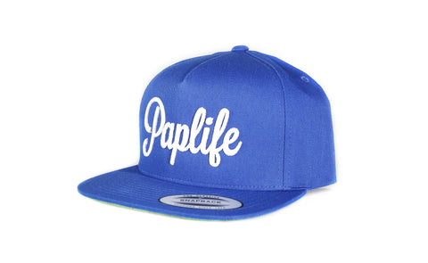 PapLife - Snapback Blue