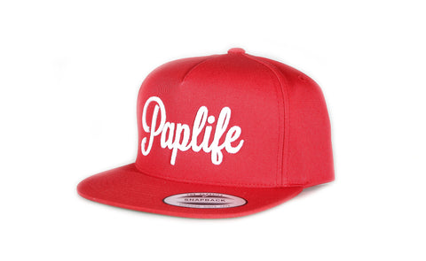 Paplife Snapback - Red
