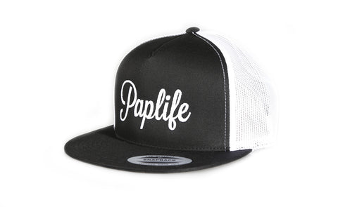 Paplife Trucker Black/White