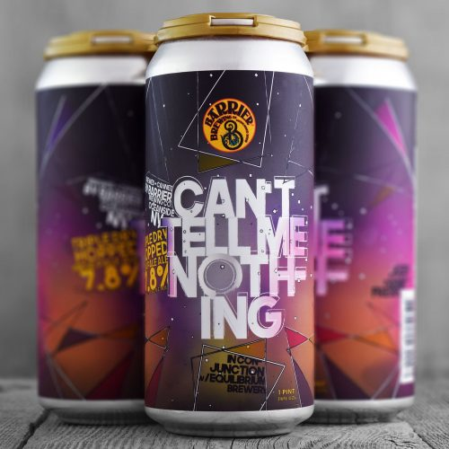 Barrier- Can't Tell Me Nothin,7.8%, 440ml