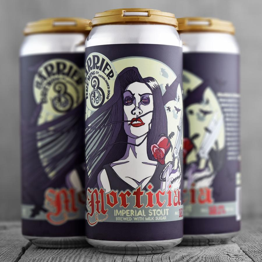 Barrier - Morticia, Stout, Russian Imperial, 10.1%, 440ml