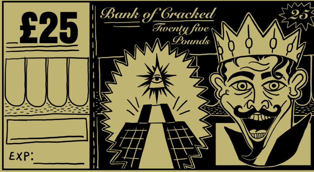 Bank Of Cracked Gift Voucher £25