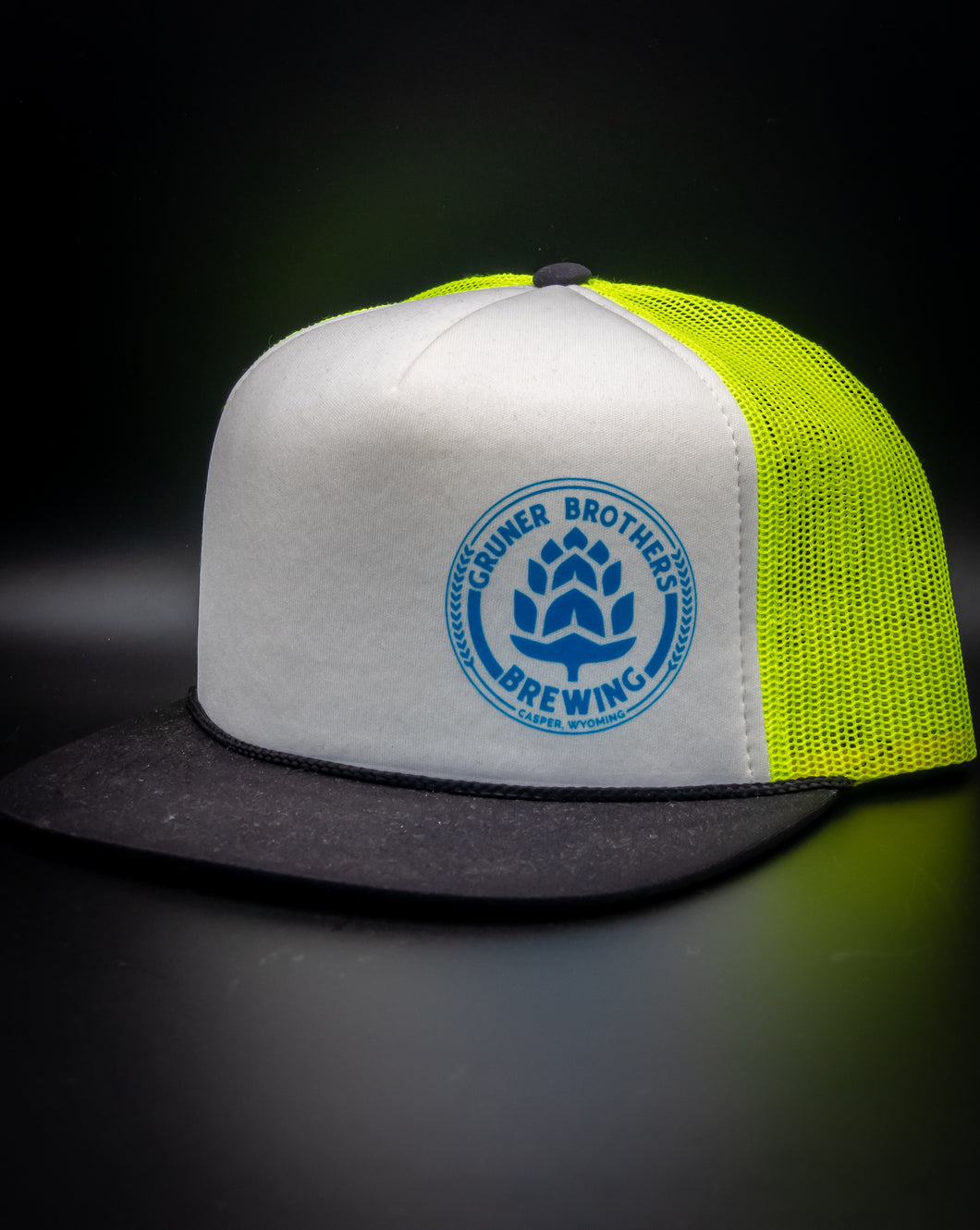 113 Neon Puffy Trucker Hat