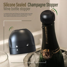 Load image into Gallery viewer, Silicone Sealed Champagne Stopper