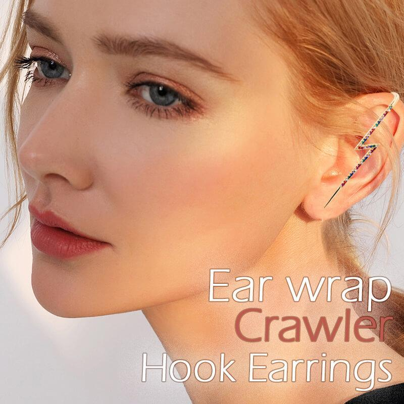 Ear Wrap Crawler Hook Earrings