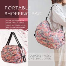 Load image into Gallery viewer, Foldable Travel One-shoulder Portable Shopping Bag