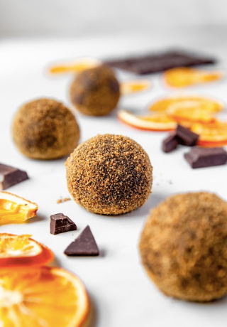 Chocolate and Orange Energy Balls