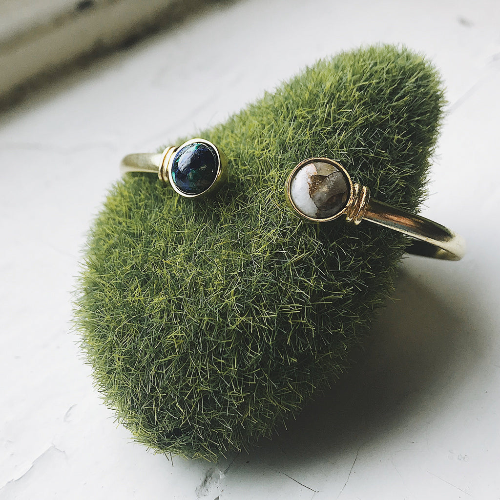 Earth and Moon Cuff