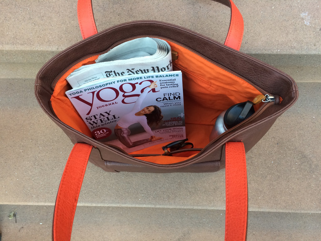 Borough Black Vegan Tote