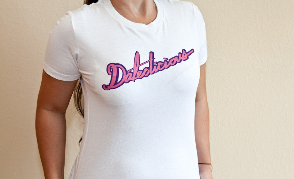 Dateolicious White T-Shirt