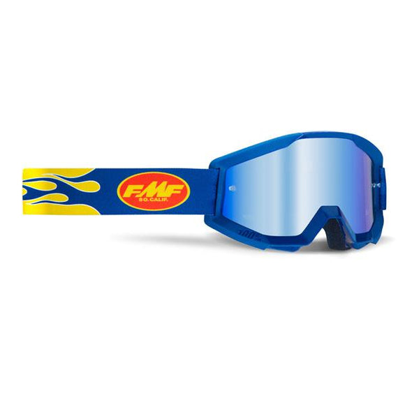 FMF Powercore Flame Goggle w/ Mirrored Lens - ExtremeSupply.com