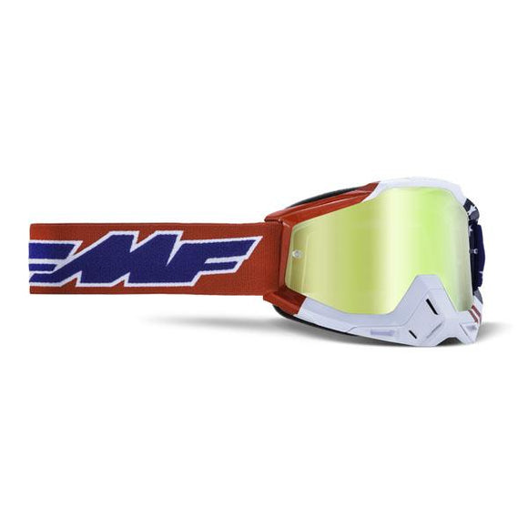 FMF Powerbomb Usa Goggle w/ Mirrored Lens - ExtremeSupply.com