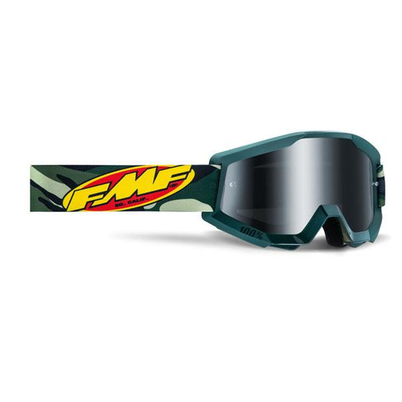 FMF Powercore Assault Goggle w/ Mirrored Lens - ExtremeSupply.com