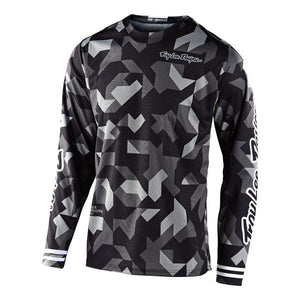 Troy Lee Designs GP Jersey - Confetti - Black