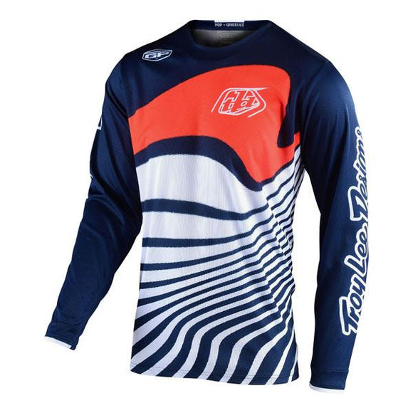 Troy Lee Designs GP Jersey - Drift - Navy / Orange