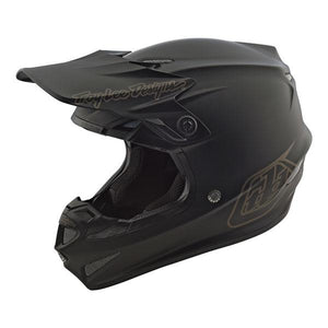 Troy Lee Designs Youth SE4 Polyacrylite Helmet MIPS - Midnight - Black