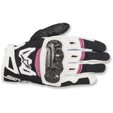 Alpinestars Womens SMX-2 Air Carbon V2 Motorcycle Gloves
