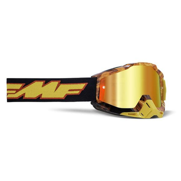 FMF Powerbomb Youth Spark Goggle w/ Mirrored Lens - ExtremeSupply.com