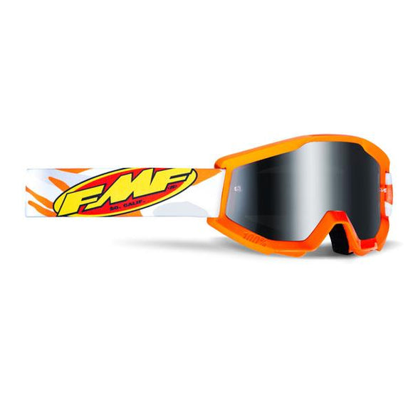 FMF Powercore Youth Assault Goggle w/ Mirrored Lens - ExtremeSupply.com