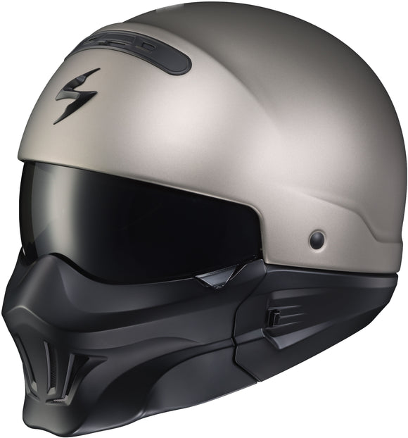 Scorpion Covert Open-Face Helmet w/ Evo Mask - ExtremeSupply.com